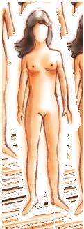 kobieta 1 rysunek
